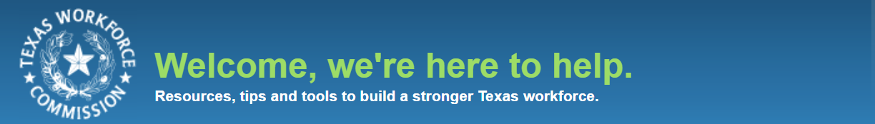 Connect with the Texas Workforce Commission